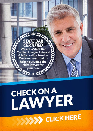 check on a lawyer